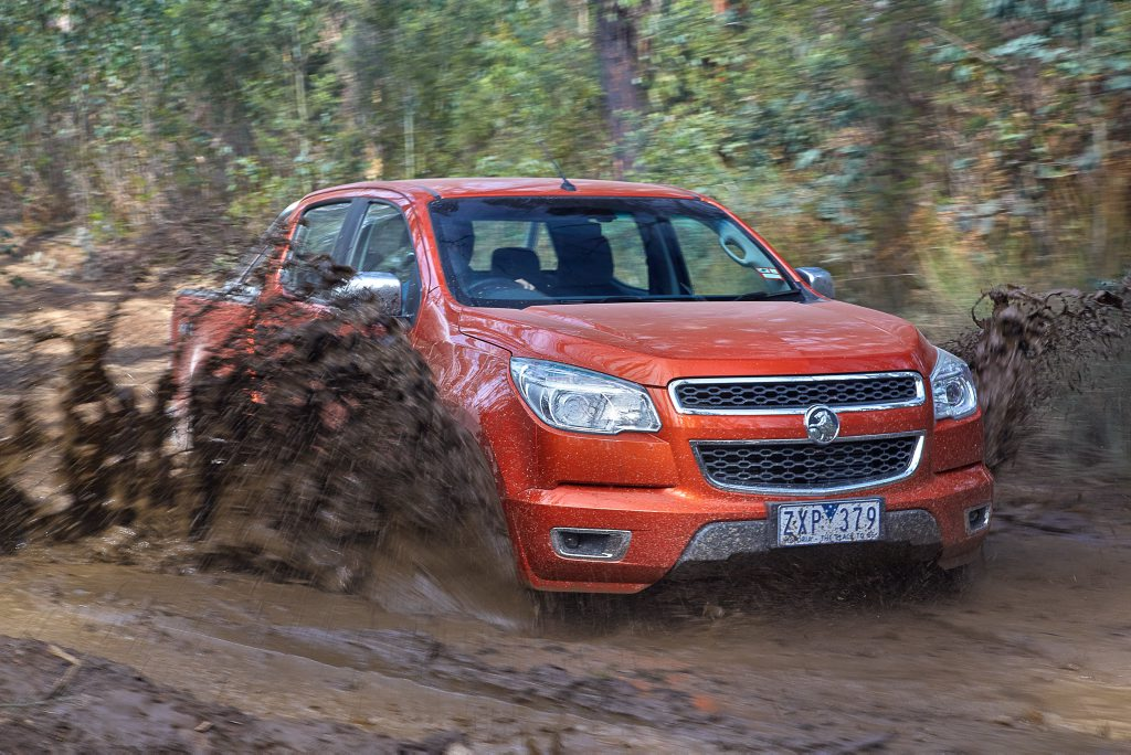 The Holden Colorado is in element when things get tough.