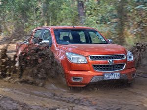 Road test: Holden Colorado embraces tough terrain