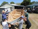 GRAHAM Huth admits no hand-built boat figured in the simple dreams the Men's Shed founders shared.