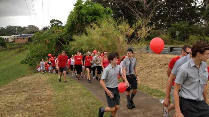 Walk for Daniel on the Sunshine Coast.