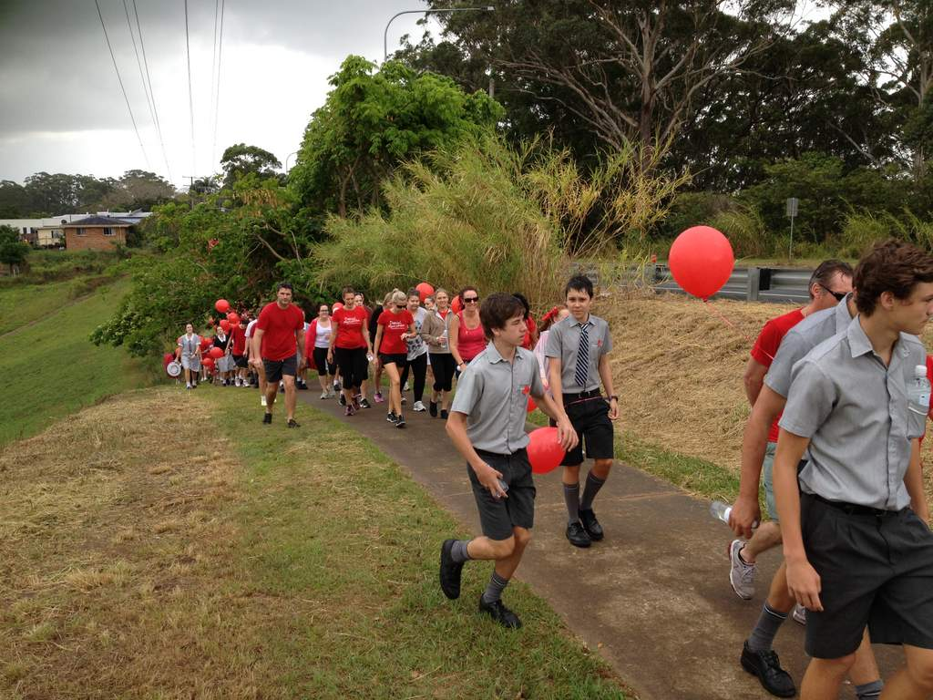 Walk for Daniel on the Sunshine Coast.