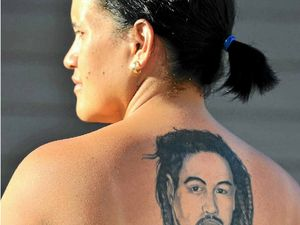 Tattoo a lasting reminder of woman's late husband