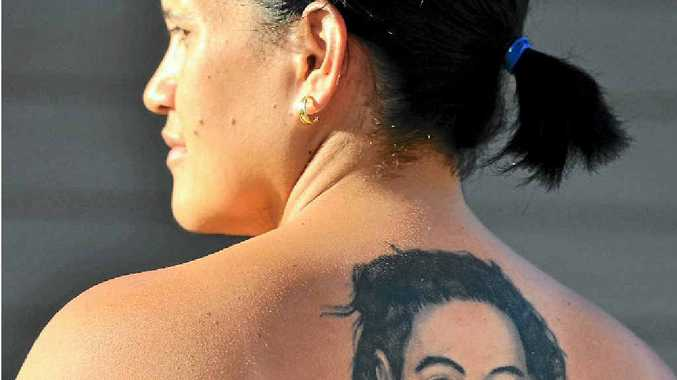 Moana Hakavalu has entered The Observer's tattoo competition. She has a back piece dedicated to her late husband.