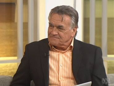 Insiders host Barrie Cassidy shown on ABC television.