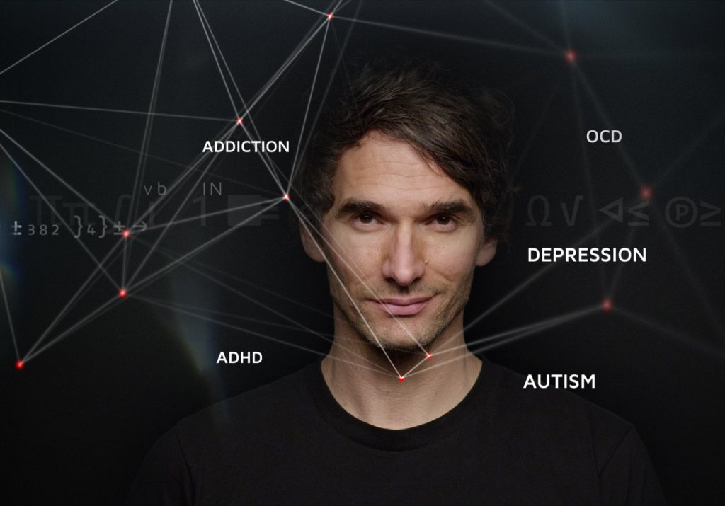 Todd Sampson, host of Redesign My Brain. Photo ABC TV