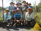 Group effort at Lismore Rainforest Botanic Gardens pays off