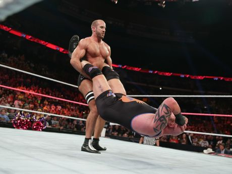 Wwe Superstar Antonio Cesaro Swings Into Hell Sunshine Coast Daily