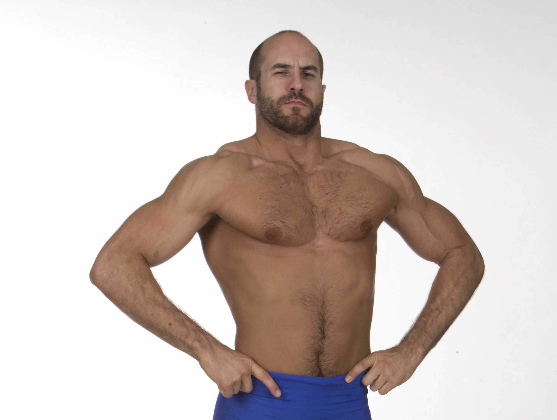 WWE Superstar Antonio Cesaro.