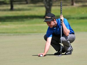 Nerves of steel over winning putt secures victory