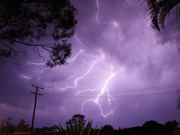 Queensland is facing some 'supercell' activity on Friday.