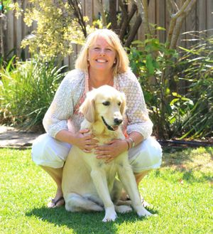 Dog trainer Rhonda Robinson at home in Casuarina.
