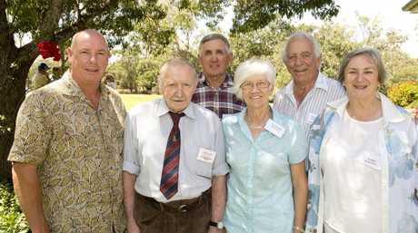 Broc Winten, Rowley Winten, Jim Winten, Rayleigh Winten, Rowland Cornell and Marie Cornell.