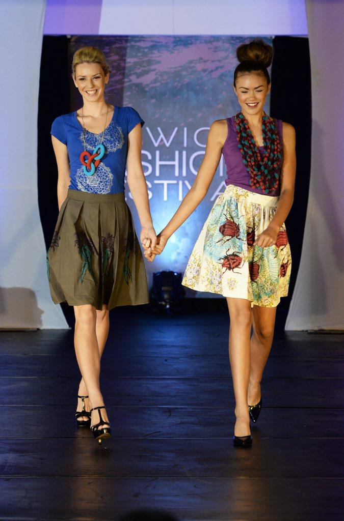 Ipswich Fashion Festival Gala Fashion Evening held at the Metro Hotel Ipswich International.