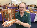 WOODWORKER Bill Chad last year helped craft a trophy in honour of his late friend Don Bellamy, the Northern Rivers Woodworking Association's former president.
