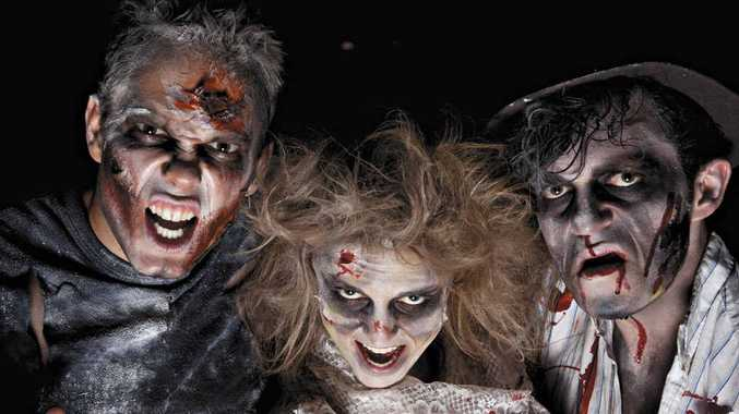 Dress up as zombie as part of the Kuttabul Hotel's Zombie Stomp next Saturday night.