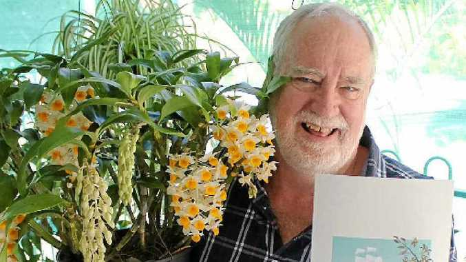Bill Lavarack's latest book, With Strange Device, shares his vast knowledge about orchids and their history.