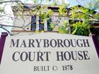 A young mum was sentenced to a month in prison in Maryborough Magistrates Court.