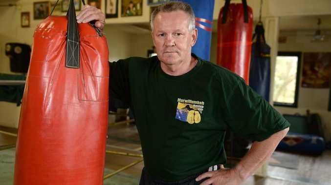 Stuart Stone at the Murwillumbah gym.