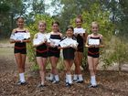 DANCE: Pictured are the 7 to 11-year-old dancers from the PCYC Irish Dancers who competed at the 2013 Mackay Eisteddfod on October 20 with fantastic results. (L-R) Natalie Brandon, Jenai Taylor, Olivia Tudman, Piper McDade, Kasi Richardson and Amber Brennan. Photo Contributed