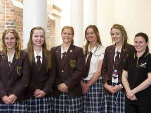 Harristown High students impress at awards night