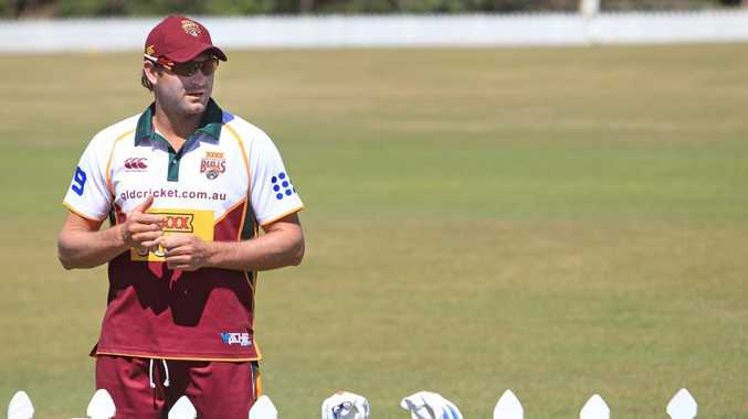 PACE CANDIDATE: Queensland Bulls seamer Ryan Harris is a strong chance to take on England in the first Test.