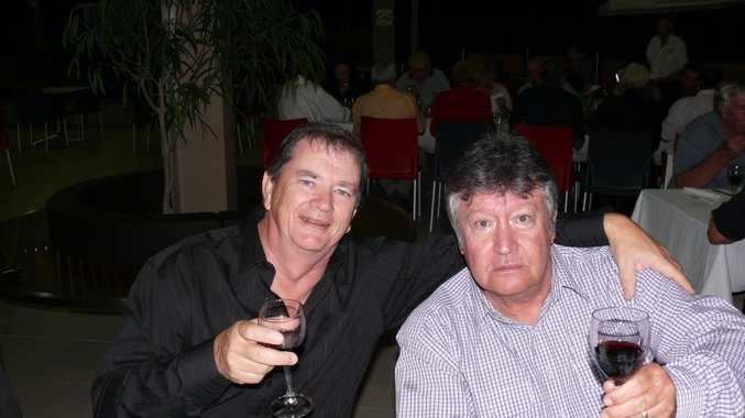 Lloyd Peers and Joe Garvey. ls14/0910/7. Photo Lyn Stephens / Capricorn Coast Mirror