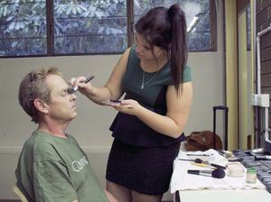 Make-up artists add colour to Wind in the Willows production