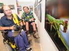 Neil Schurmann and Mark Farrell take a look at some of the works in Art Affair at the Hervey Bay Regional Gallery.