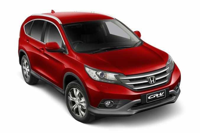 Honda will release a diesel CR-V in January 2014.