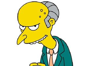 Mr Burns visits to inspect site for nuclear power plant