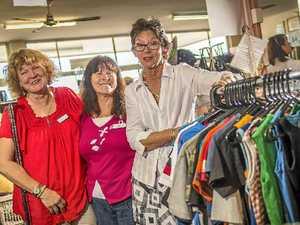 Volunteers praise their manager at Gladstone Vinnies
