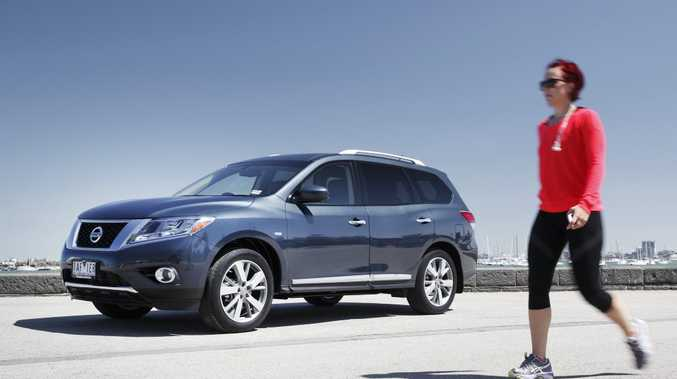 The new Nissan Pathfinder.