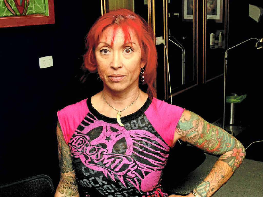 Savage Tattoo owner Grace Crossland.