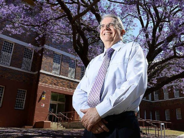 HEAVY BURDEN: Professor Harvey Whiteford from the Queensland Centre for Mental Health Research at Wacol is part of a ground breaking research team into mental health and substance abuse.