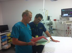 Recognition that hospital's ED is 'operating at a high level'