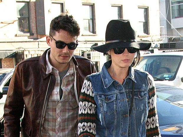 Katy Perry and John Mayer exchanged love letters before they started dating and their courtship inspired one of her new songs.