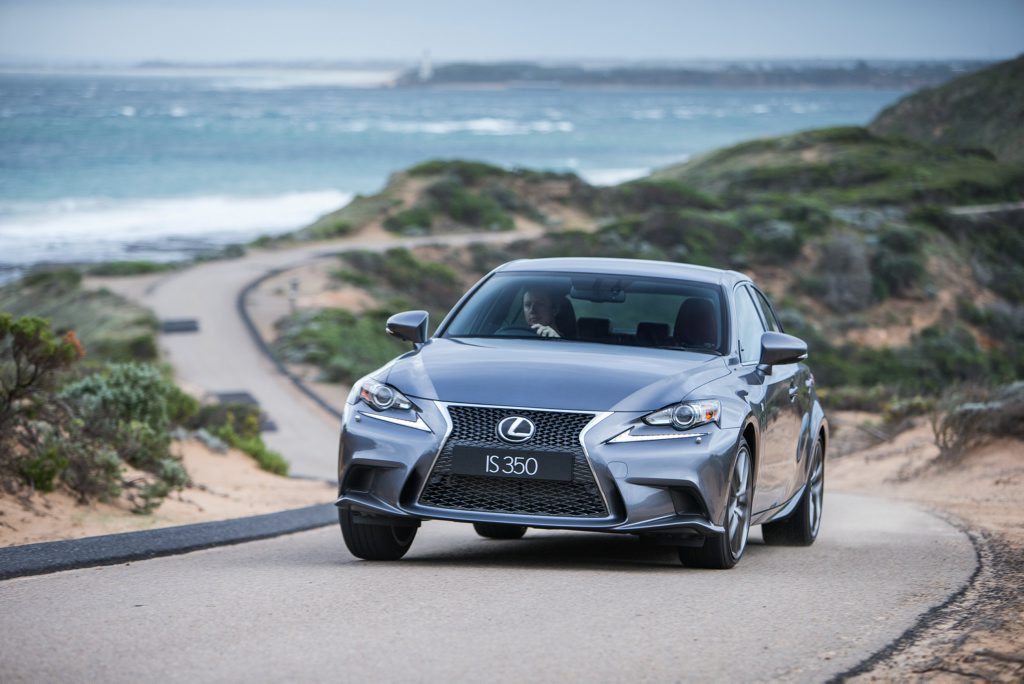 The Lexus IS350 F Sport.