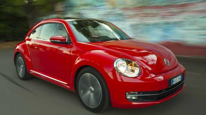 The Volkswagen Beetle.