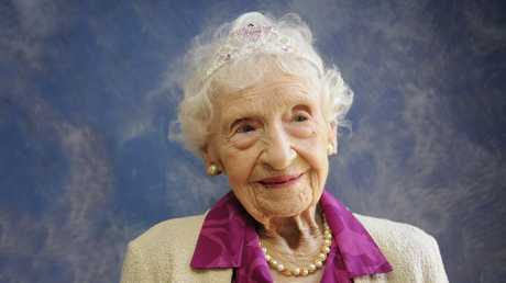 Doris Cosh celebrates her 100th birthday.