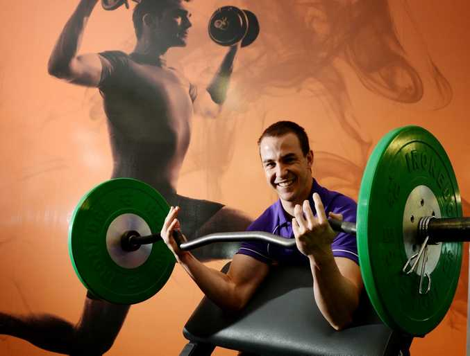 Shaun Arnold personal trainer and assistant manager at Activ Gracemere. Photo Allan Reinikka / The Morning Bulletin