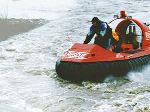 Hovercraft on council's flood wish list