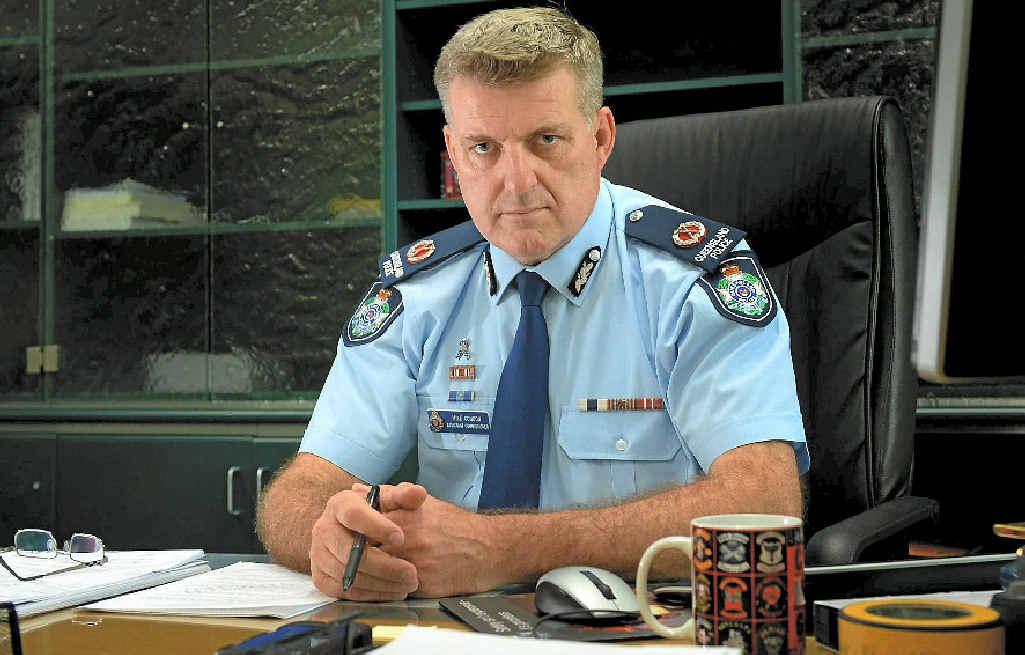 Central Region's top cop Assistant Commissioner Mike Condon.