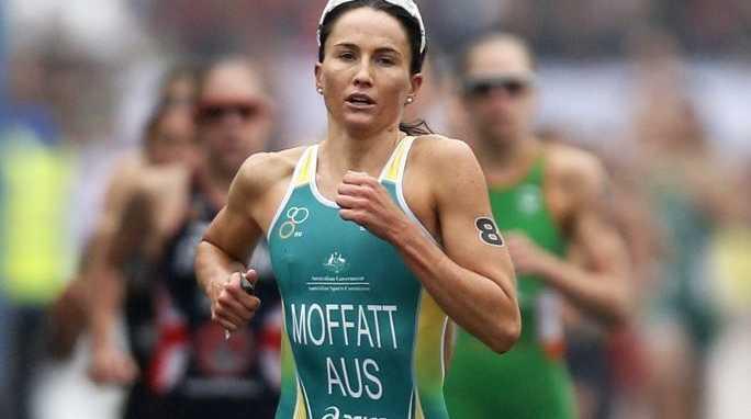 Emma Moffatt finished seventh in the women's triathlon at the Glasgow Commonwealth Games.