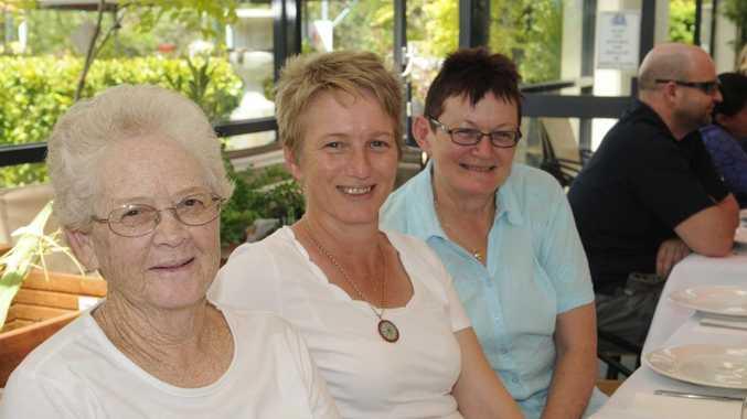 Theresa Hegarty, Annie Sendall and Iris Baird.