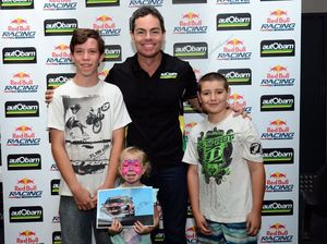 Hundreds turn out to meet supercar driver Craig Lowndes