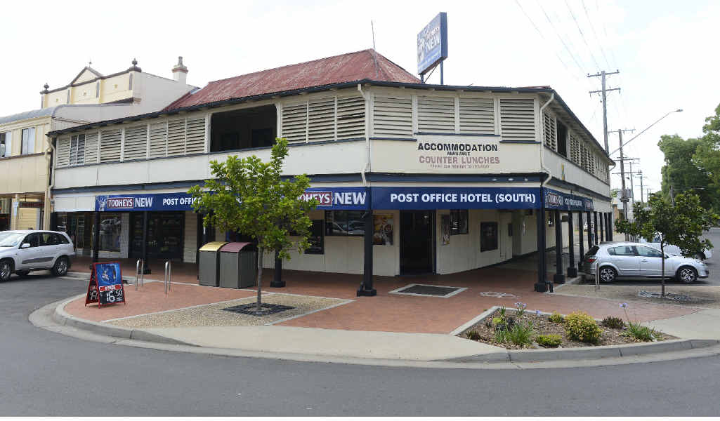 UP FOR GRABS: The South Grafton Post Office Hotel.