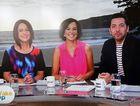 Hosts Natasha Exelby, Natarsha Belling and James Mathison's Wake Up debut.