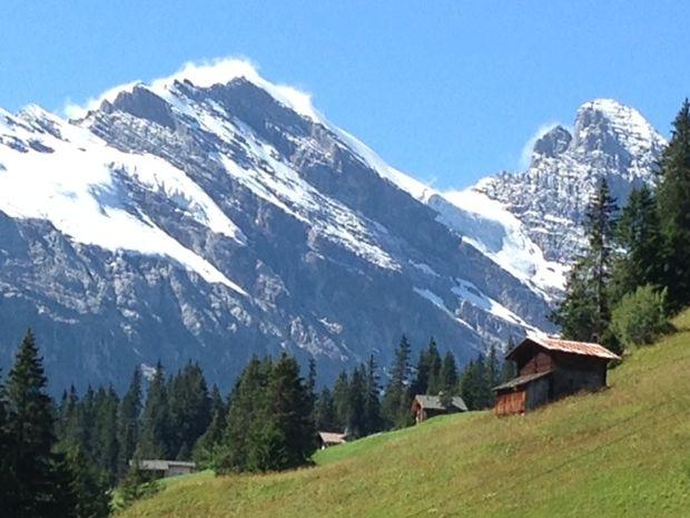 Interlaken in Switzerland offers some spectacular scenery.