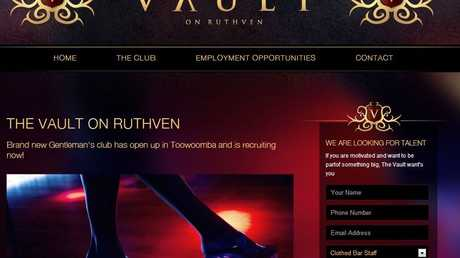 The Vault on Ruthven's new website.