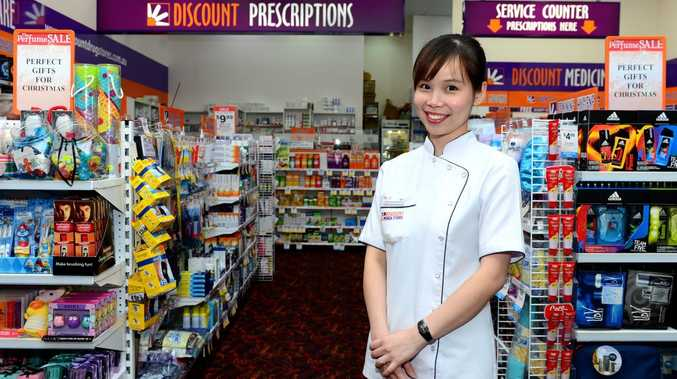 Mia Leong has been appointed managing proprietor at Richardson Road discount drug store in Red Hill Homemaker Centre. Photo Sharyn O'Neill / The Morning Bulletin